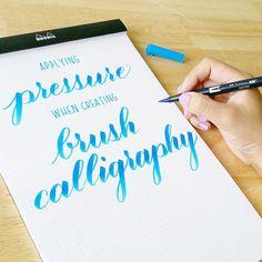 2 - applying pressure, holding pen
