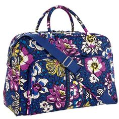 *NWT* Weekender Overnight Carry-on AFRICAN VIOLET Brand new, never used, with tag and paper wrappings still attached! LKing for more Vera Bradley items, visit my closet! PRICE IS FIRM, NO OFFERS PLEASE Vera Bradley Bags Travel Bags