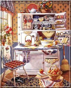✿Kitchen✿ Colorful Kitchen
