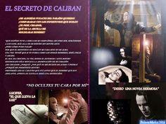 El secreto de Caliban, enamorado de la joven y guapa actriz Maude Gunnerson. The secret of Caliban in love with the young and beautiful actress Maude Gunnerson