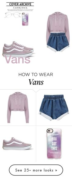 """""""Lavender"""" by ms-forever10 on Polyvore featuring River Island, Vans and Casetify"""