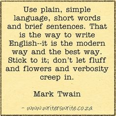 Quotable - Mark Twain - Writers Write Creative Blog