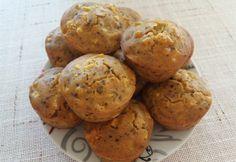 Tej- és gluténmentes kukoricás-sonkás muffin