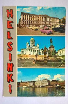 Postcard Helsinki, Finland 1960/70