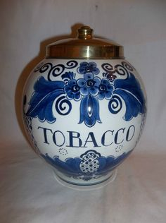 http://www.ebay.com/itm/VINTAGE-DELFT-TOBACCO-HUMIDOR-JAR-BEAUTTIFUL-HAND-PAINTED-HOLLAND-BLUE-WHITE-/311224910295?pt=LH_DefaultDomain_0