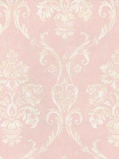 Interior Place - Soft Pink Floral Damask Wallpaper, $29.99 (http://www.interiorplace.com/soft-pink-floral-damask-wallpaper/)