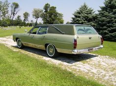 1969 Ford Country Sedan funeral car.