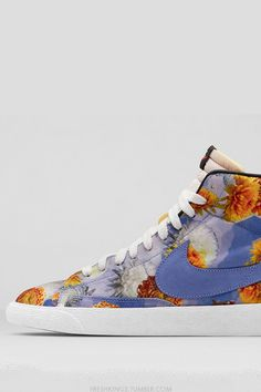 "the best attitude 76bd3 b54c0 Nike Blazer Mid Premium Vintage ""Floral"" City Pack at Nike.com on May"