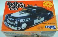 MPC POLICE PATROL CAR '49 MERCURY MODEL CAR KIT