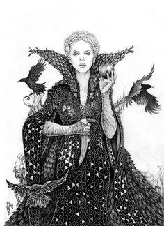 Twisted tales: Evil Queen Ravenna SWATH by ~danielfoez on deviantART