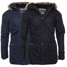 Geographical Norway gefütterte Winterjacke Herren Parka Winter Jacke S-XXXL NEU   eBay