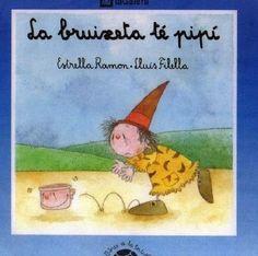 """Estrella Ramon / Joan Lluís Filella. """"La bruixeta té pipí"""". Editorial La Galera. (6 a 8 anys). Està a la biblio. Winnie The Pooh, Disney Characters, Fictional Characters, Album, Baseball Cards, Libros, Storytelling, Winnie The Pooh Ears, Fantasy Characters"""