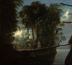 William Hodges - Pickersgill Harbour, 18th century