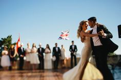 """Dubrovnik Luxury Weddings  """"1. dance under love of two flags. What is your experience with the mixed marriages? This one will definitely last for ages!"""""""