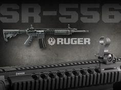 SR-556 #Firearms #Ruger