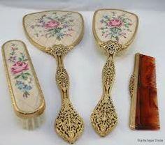 Reserved Listing for theporcelainrose- Darling Vintage Brush and ...