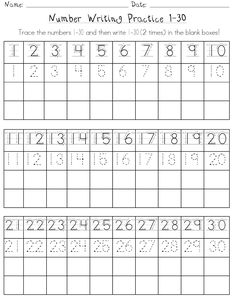 √ Free Math Worksheets First Grade 1 Number Charts Counting Objects . 5 Free Math Worksheets First Grade 1 Number Charts Counting Objects . Number Worksheets Kindergarten, Kindergarten Handwriting, Free Math Worksheets, Preschool Writing, Numbers Preschool, Math Numbers, In Kindergarten, Missing Number Worksheets, Writing Out Numbers