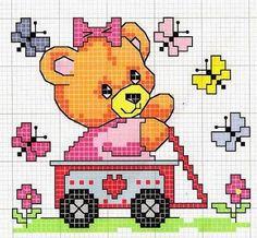 Graficos para enfeitar ainda mais o cantinho dos bebês,   e deixar tudo mais alegre e colorido,   Bom bordado            ...