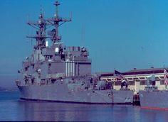 USS Briscoe DD-977 Patch Full Color