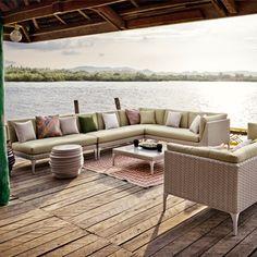 Dedon MU Lounge set
