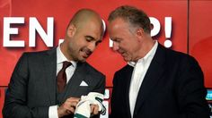 Pep Guardiola is not under pressure to sweep the board with a Bundesliga, DFB Pokal and Champions League treble at Bayern Munich this term. Pep Guardiola, Under Pressure, Champions League, Football, Munich, Annoyed, Goal, Sports, Dortmund
