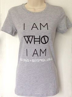 """Fitted T-shirt for the perfectly imperfect woman who remains true to who she is at all times.  """"Accept me, reject me, rate me, hate me...but I am still ME!""""  This heather grey  tee is 90% combed and ringspun cotton, 10% polyester for a comfortable and stylish fit.  **Please refer to the size..."""