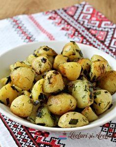 Cartofi noi la tigaie sau la ceaun - Lecturi si Arome Potatoes, Canning, Fruit, Vegetables, Recipes, Food, Potato, Recipies, Essen