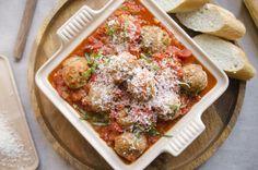 Classic Italian Turkey Meatballs