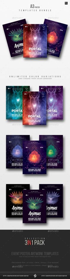a3, abstract, ambient, art, bundle, chillout, collection, dark, downtempo, dub, esoteric, event, flyers, goa, pack, party, photoshop, posters, print, progressive, psybient, psychadelic, psychedelic, psychill, psycore, psytrance, session, spiritual, trance Progressive trance, psytrance party flyer templates collection  Progressive Sound Collection 6 – pack of three creative A3 size posters / flyers for different styles of electronic music events like psytrance, goa, progressive, techno…