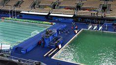 Le mystère de l'eau verte enfin résolu à Rio