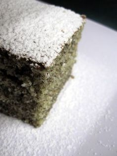 Bögrés mákos The first poppy cake I made Croatian Recipes, Hungarian Recipes, Hungarian Cake, Hungarian Food, Poppy Seed Cake, Christmas Desserts, Deserts, Food And Drink, Cooking Recipes