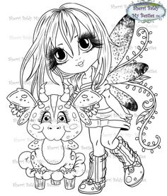 Adorbs Dragons TM Moon Coloring Pages, Adult Coloring Book Pages, Colouring Pics, Christmas Coloring Pages, Free Printable Coloring Pages, Coloring Books, Colorful Drawings, Colorful Pictures, Black Cat Art