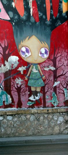 Athens Street art, Thiseio