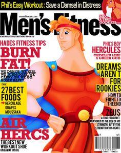 hercules in men's fitness