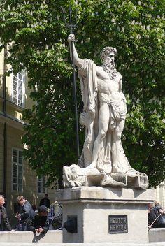 Neptune Statue in Lviv