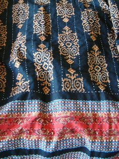 Quilted Kilim bedspread