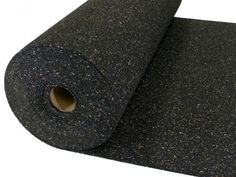 Heavy Acoustical Rubber Flooring Underlayment/Padding - 19db Decrease - Impact Sound Reduction - Home Theater Sound Reduction - 5mm thick - Recycled Rubber - Made in the USA - 200sq Ft Roll