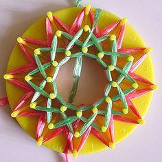 knifty knitter ribbon flower tutorial - Buscar con Google