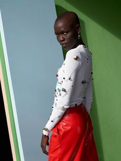 8555e5ceb8 Dazed Spring Summer 2017 Limited edition cover Alek Wek   Grace Bol  Photography by Viviane Sassen Styling  Robbie Spencer Grooming  Irena Ruben  using Chanel