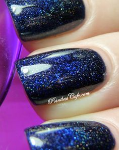 Colors by Llarowe In the Navy - Swatches and Review | Pointless Cafe