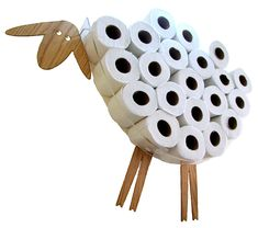 Toilet paper always seems to run out at the most inopportune of times. Even if you have a dispenser and an extra one on hand. Play it safe and get the AntGl Sheep and Lamb Toilet Paper Holder. It will let you stock as many [...]