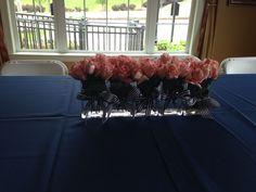 Monochromatic pink roses