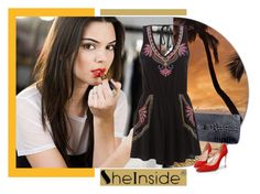 sheinside by b-mila on Polyvore featuring moda and Estée Lauder