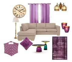 """""""Family Lounge"""" by shivika-ahuja on Polyvore featuring interior, interiors, interior design, home, home decor, interior decorating, Victoria Classics, Cultural Intrigue, Ralph Lauren and John Lewis"""