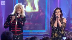 Michael Monroe & Siru Airistola -  Fix you (TV 2016)