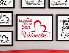 Vinilos decoracion escaparates, san valentin baratos, Vinilos San Valentin