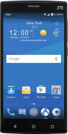 e7cc199bb7c Popular on Best Buy : AT&T GoPhone - ZTE Zmax 2 4G with 16GB Memory No