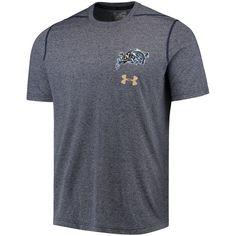 827aa6faac1 Men's Under Armour Navy Navy Midshipmen Threadborne Left Chest Logo  Performance T-Shirt Navy Midshipmen