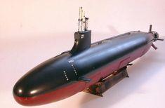 USS Seawolf SSN-21 Attack Submarine