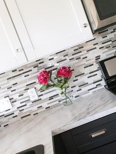 Mosaic Glass Tile Backsplash   Ana White